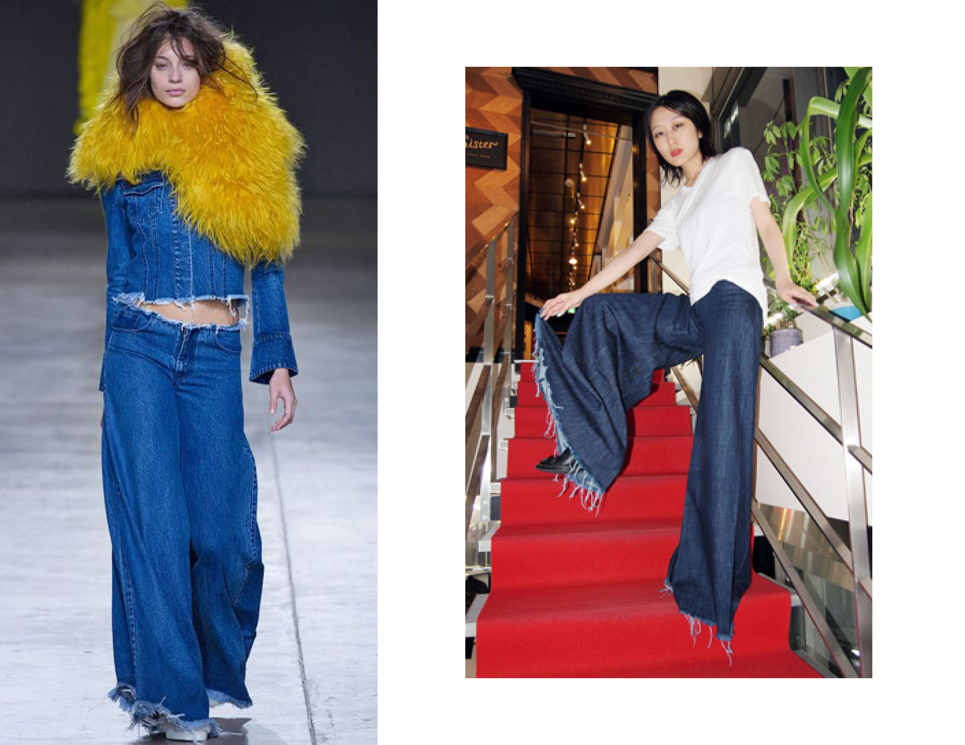 Subconscious Obsession: Wide-Leg Jeans | The Pack